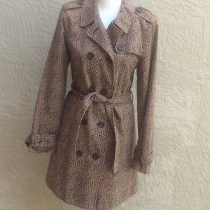Liz Claiborne trench 🧥 coat size 10.